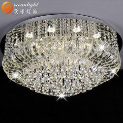 Luz de Teto Projetar Forro Luminária Piscina lustre de cristal Om55106-600
