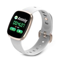 Gt103 Ecrã a cores Bracelete Inteligente Sports passo a pressão arterial de Ritmo Cardíaco da saúde do sono monitorização sedentários toque de tela cheia