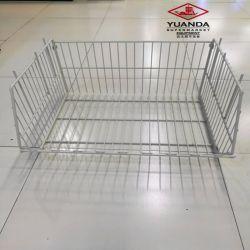 Polvo blanco de la jaula de almacenamiento para almacén