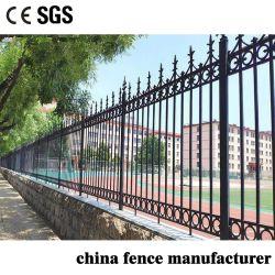 Conception moderne de protection contre la montée de la rouille de la Fonte clôture de sécurité pour le jardin/usine/Yard/ Maison résidentielle