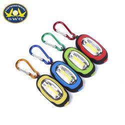 Использование вне помещений овал карабин початков цепочки ключей лампа
