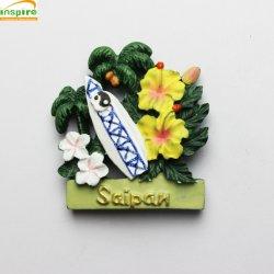 OEM Polyresin Fridge Magnet de souvenirs, cadeaux promotionnels