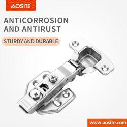 AQ866 encajar Soft cerrar las puertas del armario de la Amortiguación hidráulica de la bisagra de dos vías