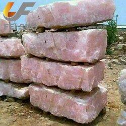 Rose naturelle pierre brute Cristal de Quartz rose