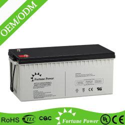 tiefe Gel-Batterie der Schleife-12V200ah für SolarStromnetz