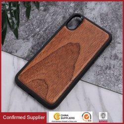 Tampas protetoras superiores de madeira reais do telefone de pilha para o iPhone X