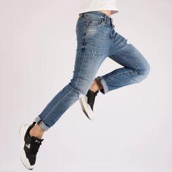 Los hombres hacia Monte Jean cómodos pantalones vaqueros Denim Stretch alta moda Top Venta Classic Popular mujeres/hombres's Denim Jeans