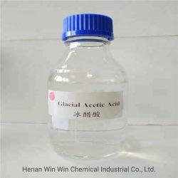 Haute qualité de l'acide acétique glacial de 99 % 99,5 % 99,8 % pour l'industrie
