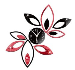 prix d'usine DIY Horloge murale Horloge artistique auto-adhésif autocollant décoration maison