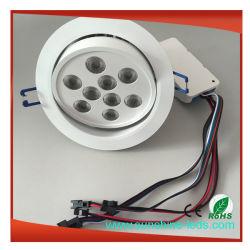 IP65 LED Scheinwerfer vertiefte Deckenleuchte LED unten helles Downlight