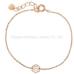 925 zilveren 14K 18K Armband met de Zilveren Juwelen van de Ketting