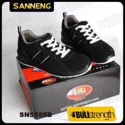 Schoenen S1 Src van de Veiligheid van de Schoenen van Sanneng de Echte Lopende (SN5555)