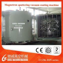 Rueda de coche Chrome magnetrón Sputtering máquina de recubrimiento vacío