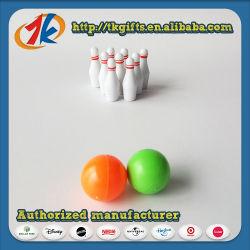 Mini juego de bolos bolos de plástico de juguete para niños
