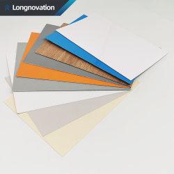 Rouleau de feuille de fibre de verre Antiflaming GRP FRP Plaque plate