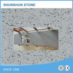 Pedra de quartzo artificial branco Material em sua bancada de cozinha