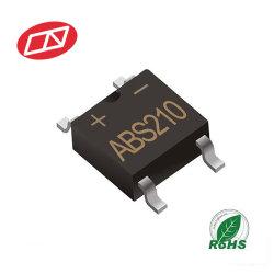 ABS210 2A 1000V 단상 유리 소동적 브리지 정류기 다이오드