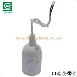 E27 E14 Socket de la base de portalámparas de plástico titular de la lámpara de plástico