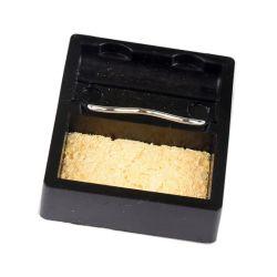 Square Mini-tipo simples estrutura de soldagem titular titular de ferro de soldar com uma esponja