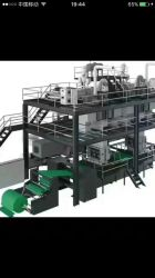 La última tecnología Meltblown Tejido sin tejer Nonwoven fundido fundir la maquina para fabricar equipos de producción de tela