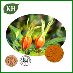Polvere della frutta di Gardenia di protezione del fegato di Kingherbs