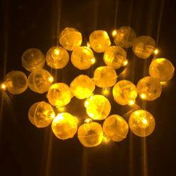 عرض صورة أكبر تعمل البطارية ميني LED الغطاس أضواء بالون مقاومة للماء لحفل عيد الميلاد، الفانيس، الزهور
