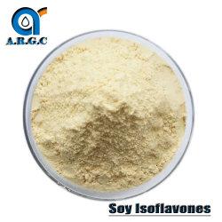 Le peptide de soja de grande qualité La poudre de protéine/isoflavones de soja CAS 574-12-9 soluble dans l'eau