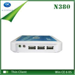Preço mais baixo de terminais thin client com 3 porta USB para computação de rede Windows ou Linux de estação de trabalho com vários usuários ilimitados