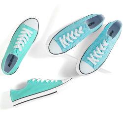 Novas tendências de chegada da mola populares sapatos de lona de homens e mulheres Baixa Topo Calçado Casual