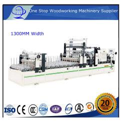 آلة العمل الخشبية ملف تعريف الغراء البارد يلفّ آلة التصفيح / mdF الغراء البارد أفقياً ملتصق متعدد / خلطة الصمغ الساخنة آلة العمل الخشبية / قالب FL