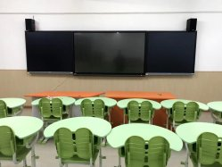 LCD Smart Board en E-schrijfbord voor klaslokaal