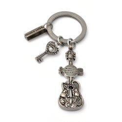 Металл с маркировкой пользовательский подарок цепочки ключей из нержавеющей стали