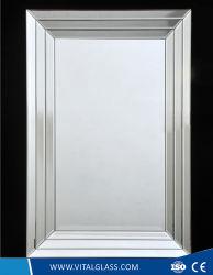 /Single/Doubleの上塗を施してある明確なアルミニウムミラーまたは銀の/Bathroomに服を着せる芸術/Wall/Decorative /Make-upミラー