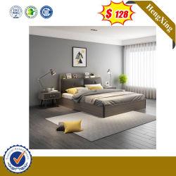 Chinesisches modernes Bett-hölzerne Wohnzimmer-Ausgangshotel-Sofa-Schlafzimmer-Möbel