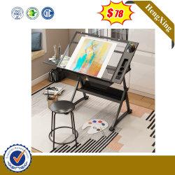 Superior em vidro para elaboração de horas de aulas de desenho inicial Tabela para Mobiliário escolar