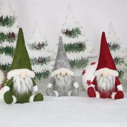 크리스마스 Cristmas 가정 장신구를 위한 얼굴이 없는 인형 즐거운 성탄 훈장