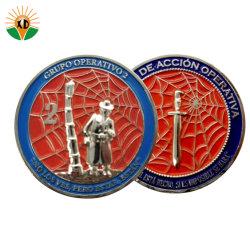 工場でカスタマイズされた金属工芸品の旧式な 3D コインの特殊な力の挑戦 スーベニアコインズ
