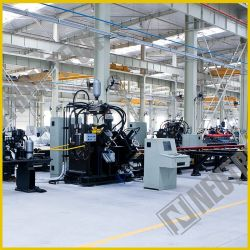 CNC van de Vezel van de Laser van het metaal de Scherpe Machine die van het Profiel van de Pijp de Machine van het Ponsen inkerven