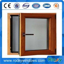 Des fenêtres à battants de bois composites en aluminium avec double vitrage