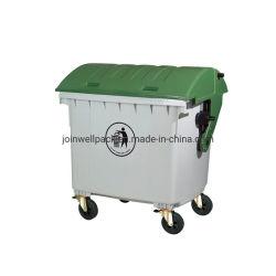 60-240 litros Wheelie Bin/Plástico cubo de basura basura/HDPE Bin/depósito de almacenamiento de residuos/bin/basura