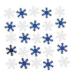 Weihnachtsfest-Schneeflockeconfetti-Dekoration