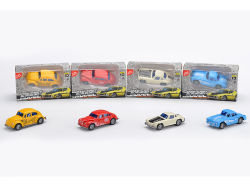 パーティの記念品の1:64の小型極度の合金車のおもちゃは金属のおもちゃ車を引っ張る