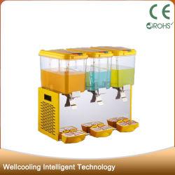 La bevanda commerciale di capacità elevata dei 3 serbatoi congelata beve l'erogatore della spremuta