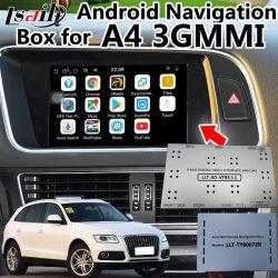 Android 6.0 GPS Navigator für Audi A6/S6/A8/Q7/A4/A5/Q5/Q3/A1 3gmmi mit Multi-Language, Youtube, Mirrorlink