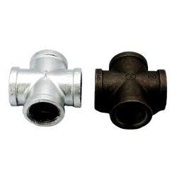 付属品-十字垂直にする電流を通された管付属品の可鍛性鉄の管付属品