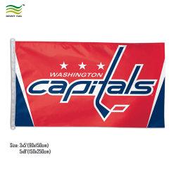 3-x5' NHL хоккей команда NFL группы коллегиального Ncaa спортивных флагов