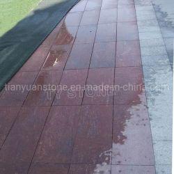 G528 de granit rouge porphyre Patio finisseur extérieur des pierres de tuiles