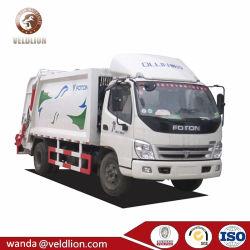Mini prix d'usine chaud largement utilisé 4M3-5Foton M3 8 tonne pour la vente de camion à benne à ordures