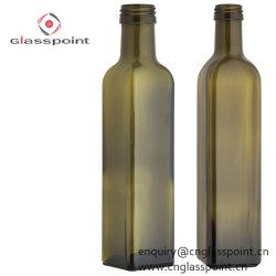 Olio di oliva all'ingrosso della bottiglia di vetro di 750ml 75cl Marasca