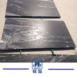 Gebäude Material Factory Natural Stone Black Granite Tile für Counter Top/Vanity Top/Table/Tiles/Paving/Floor